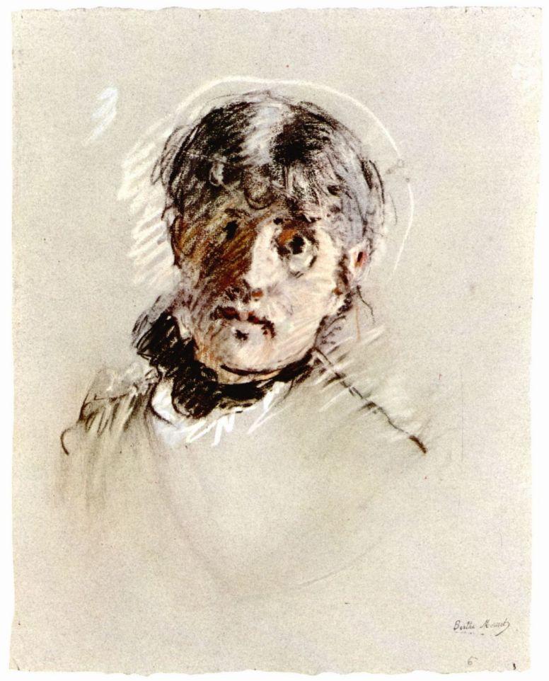 Берта Моризо. Автопортрет