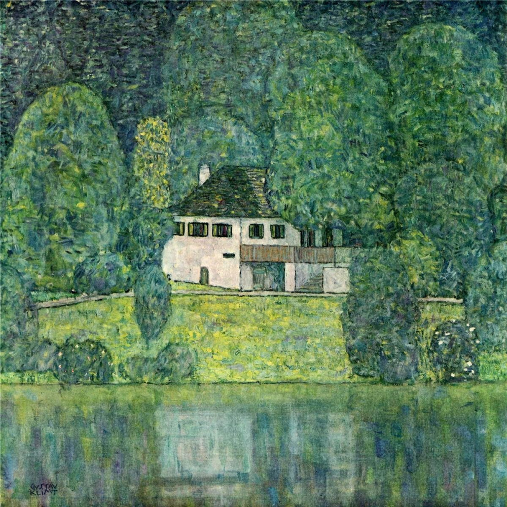 Gustav Klimt. Litzlberg on lake Attersee