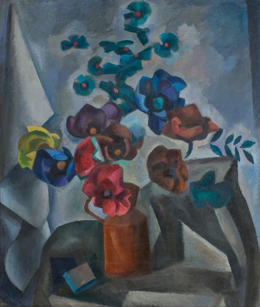 Роберт Рафаилович Фальк. Бумажные цветы