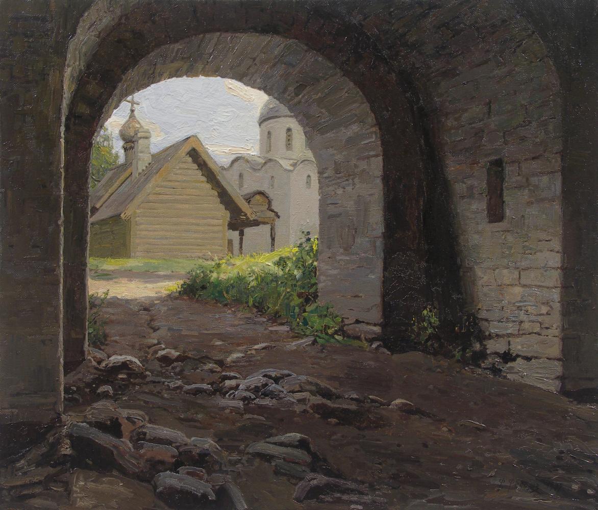 Фёдор Борисович Фёдоров. In the Old Ladoga fortress