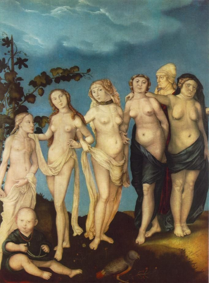 Hans Baldung Green. Museum of art and architecture, Leipzig