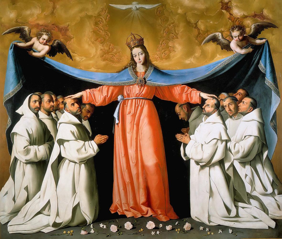 Francisco de Zurbaran. Madonna Of Mercy