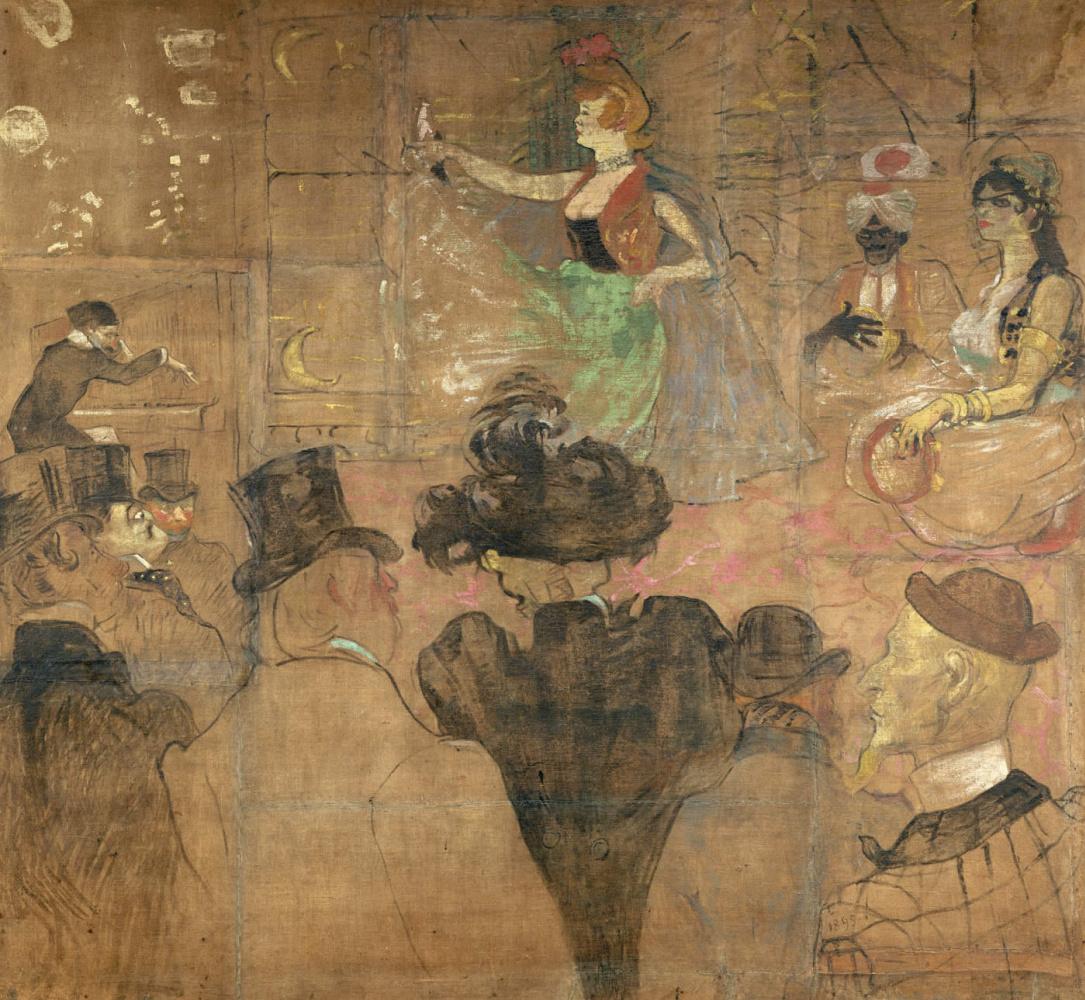 Henri de Toulouse-Lautrec. Moorish dance