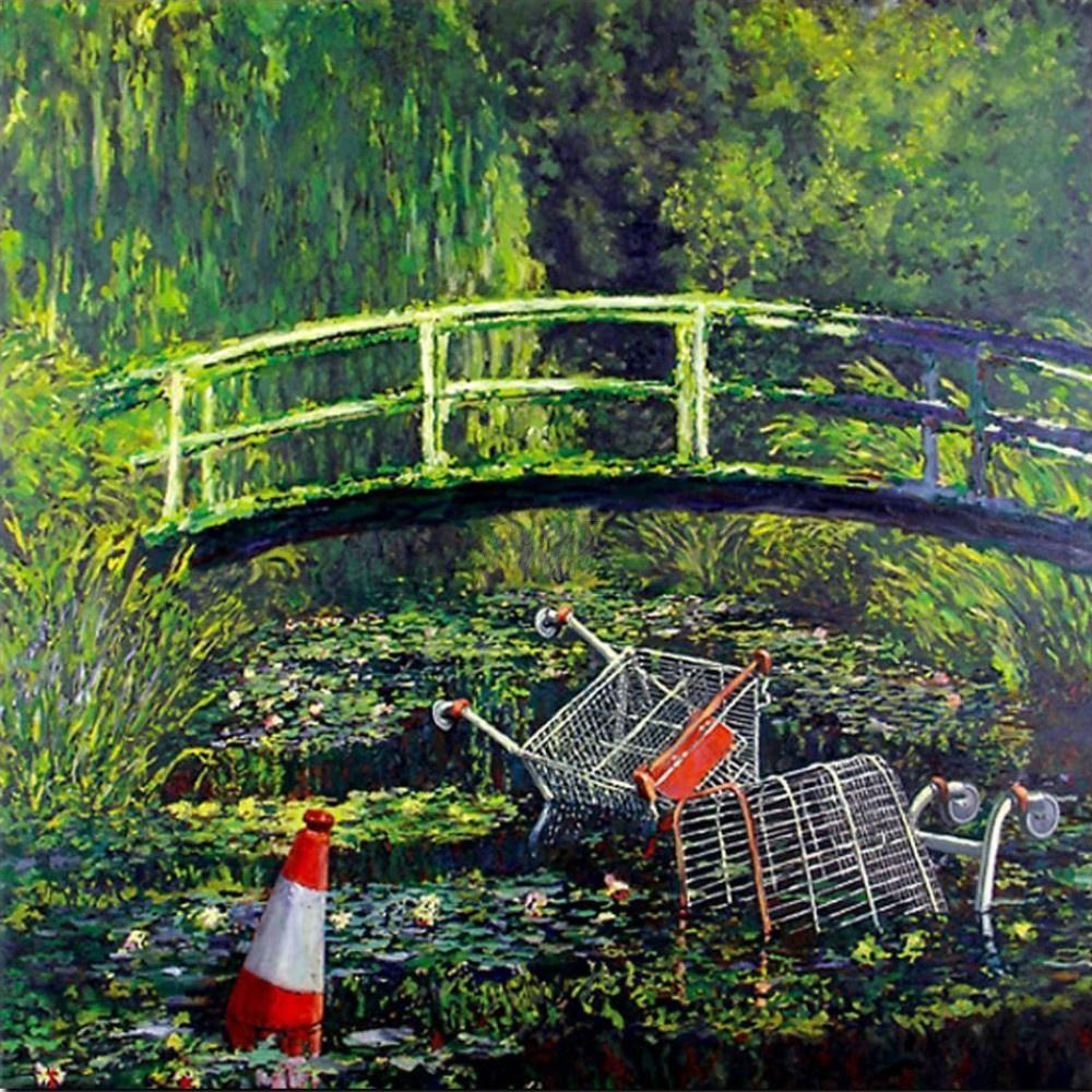 Banksy. Show me Monet