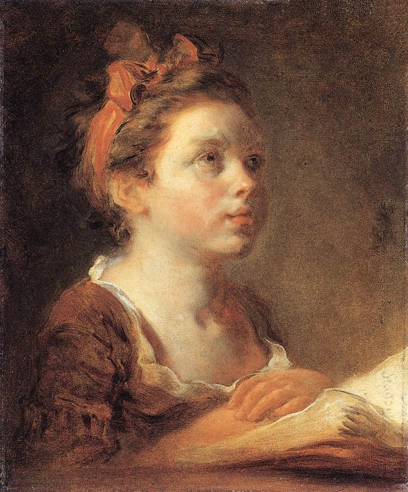 Жан Оноре Фрагонар. Юная ученица