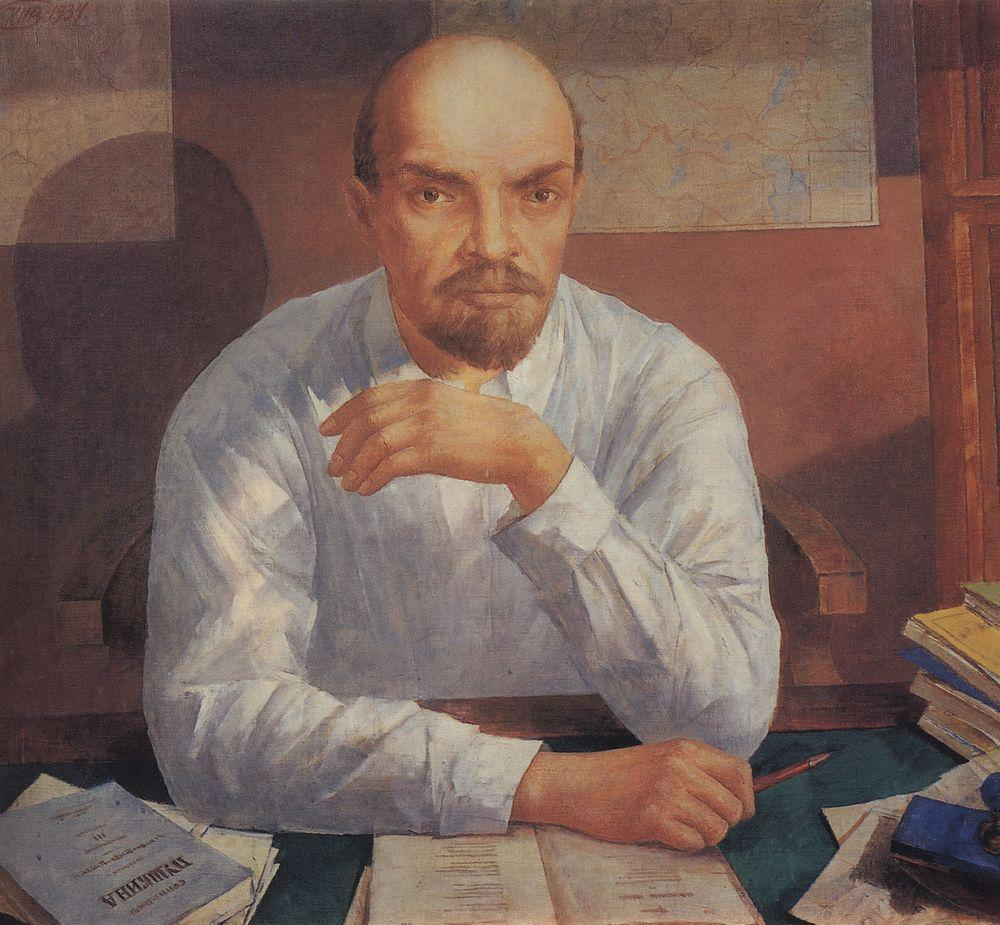 Кузьма Сергеевич Петров-Водкин. Портрет Ленина