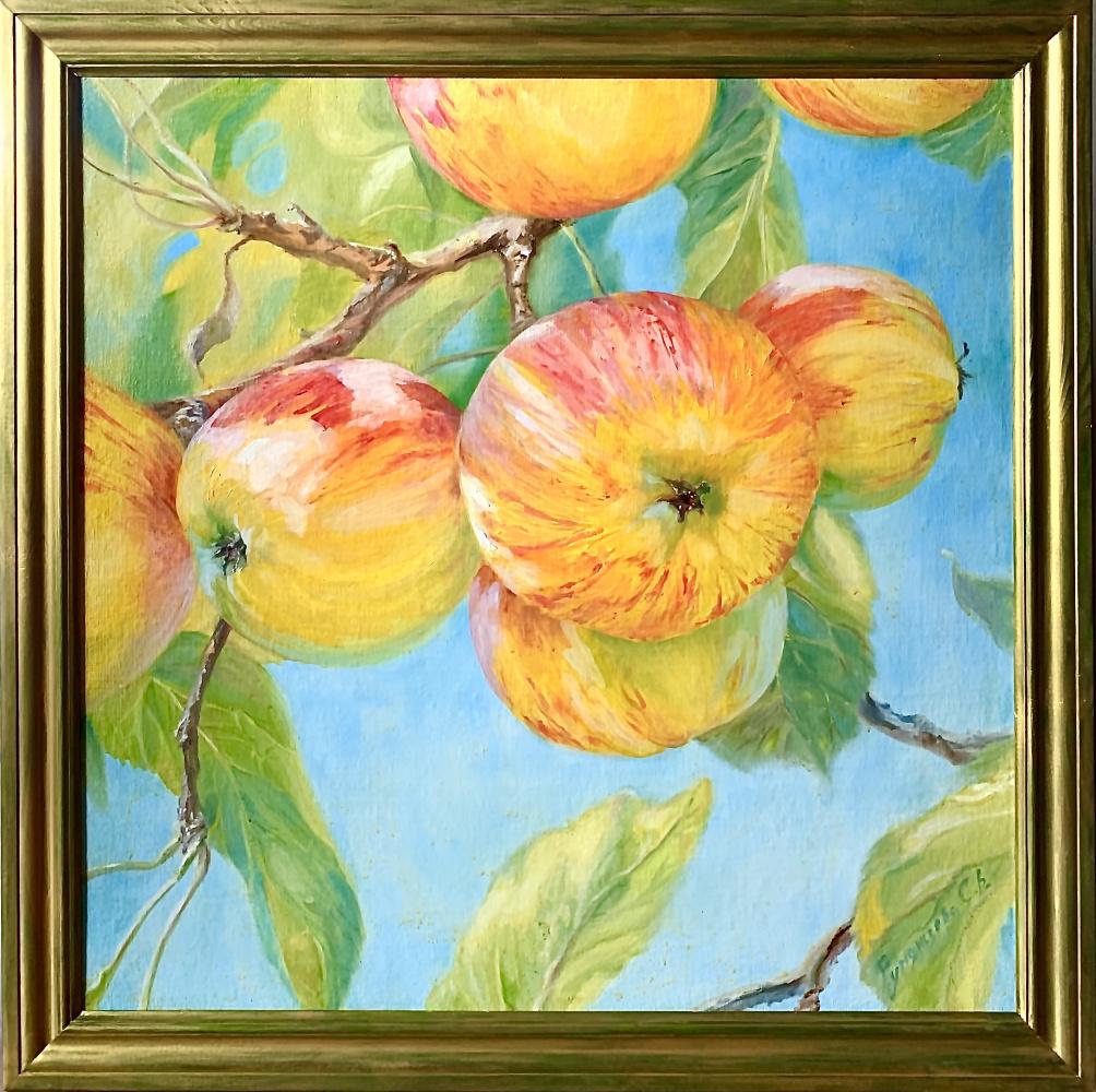 Svetlana Rumyantseva. Sunny apples