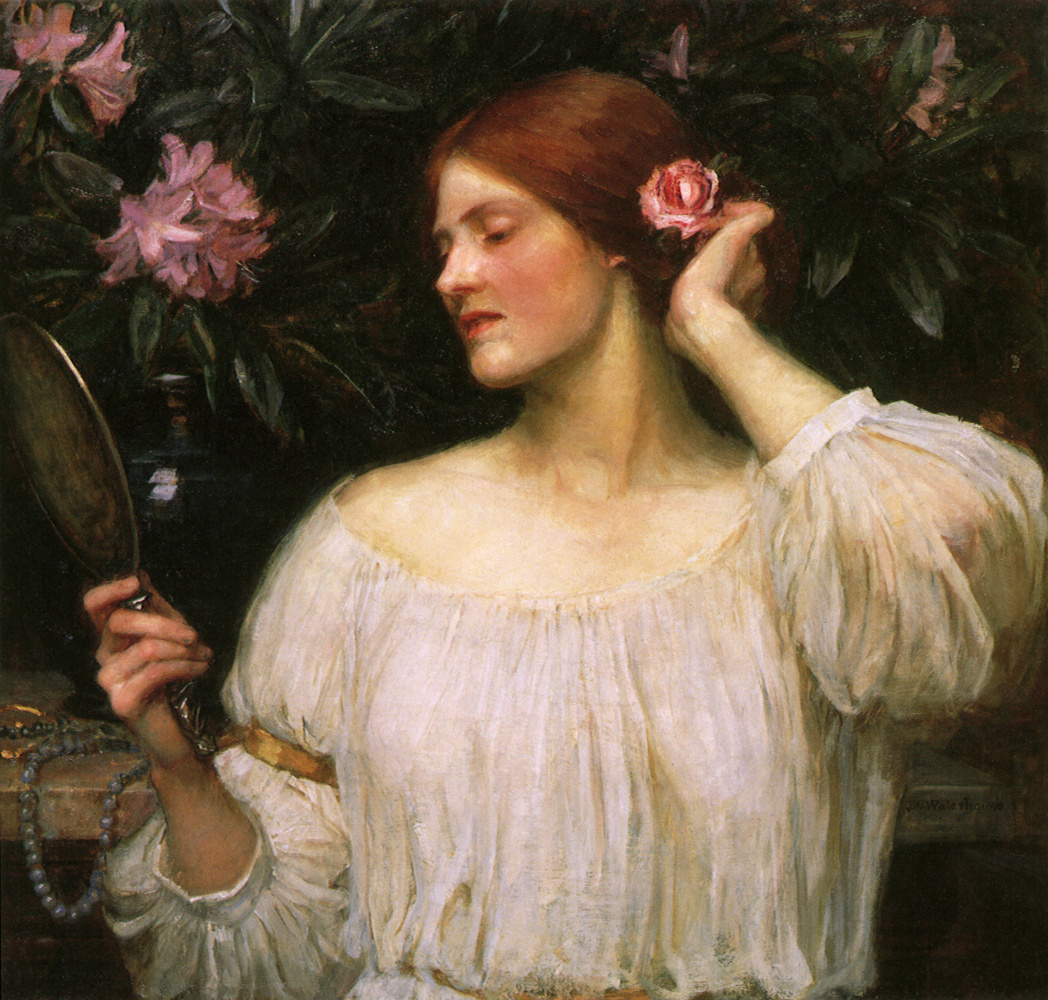 John William Waterhouse. Vanity