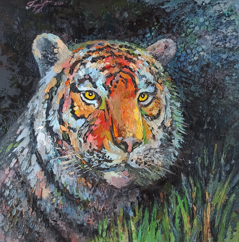 Irina Gubarevich. Amur tiger