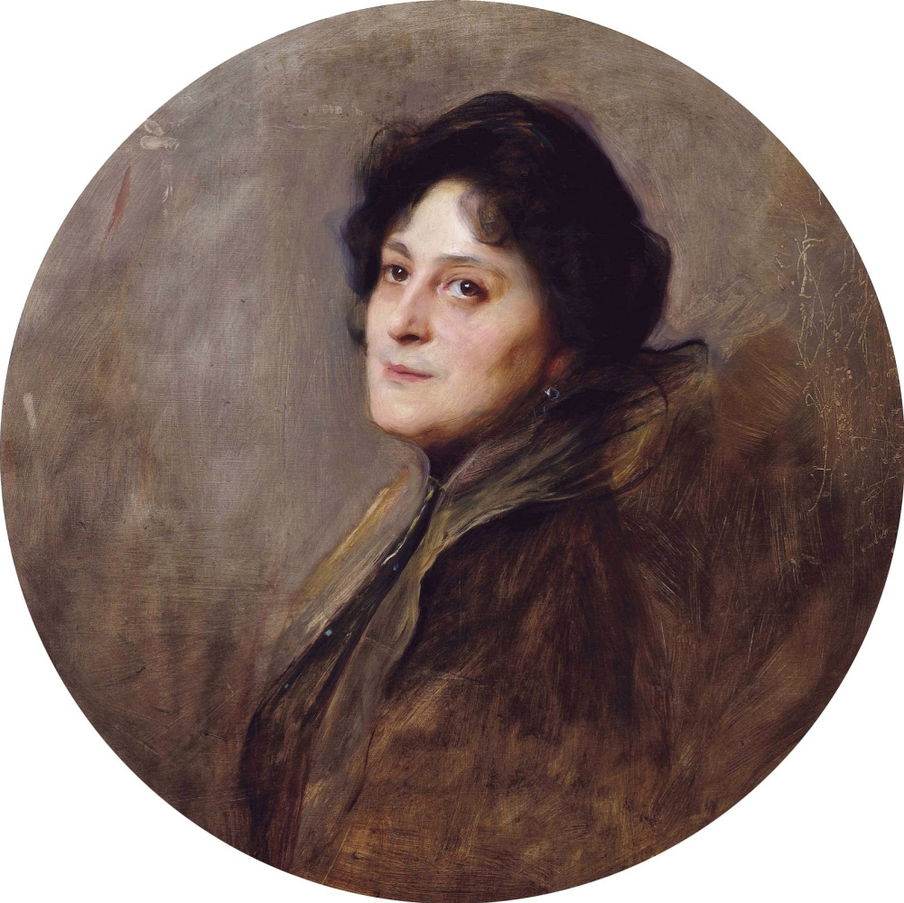 Филип Аликсис Де Ласло. Baroness Wolf von Stomersee, nee. Alice Barbie. 1901