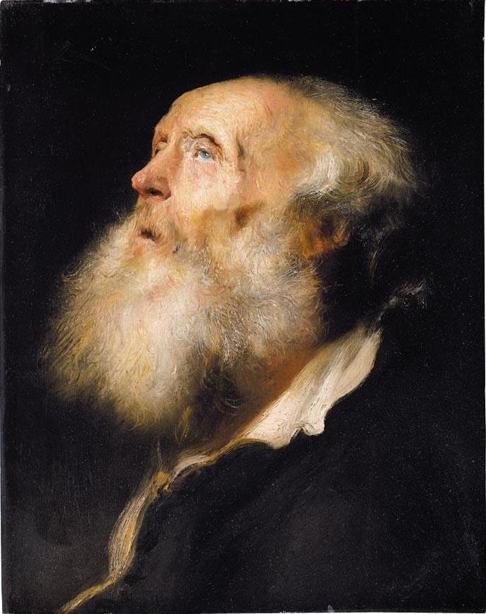 Ян Ливенс. Портрет бородатого старика