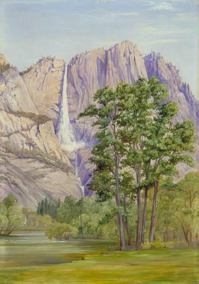 Марианна Норт. Водопад Йосемити, Калифорния