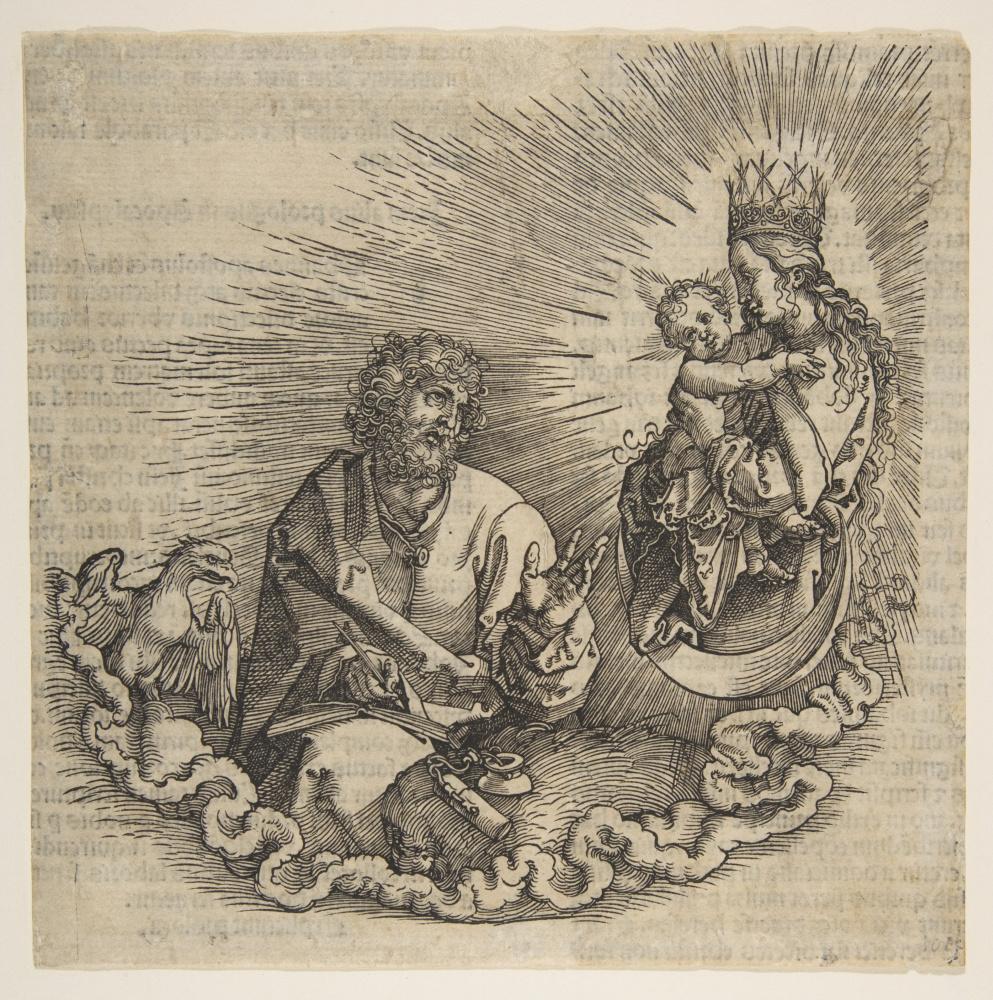 Альбрехт Дюрер. Мария и Святой Иоанн