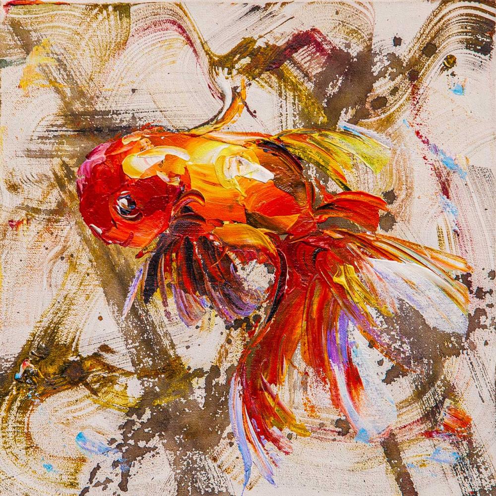 Jose Rodriguez. Золотая рыбка на удачу N2