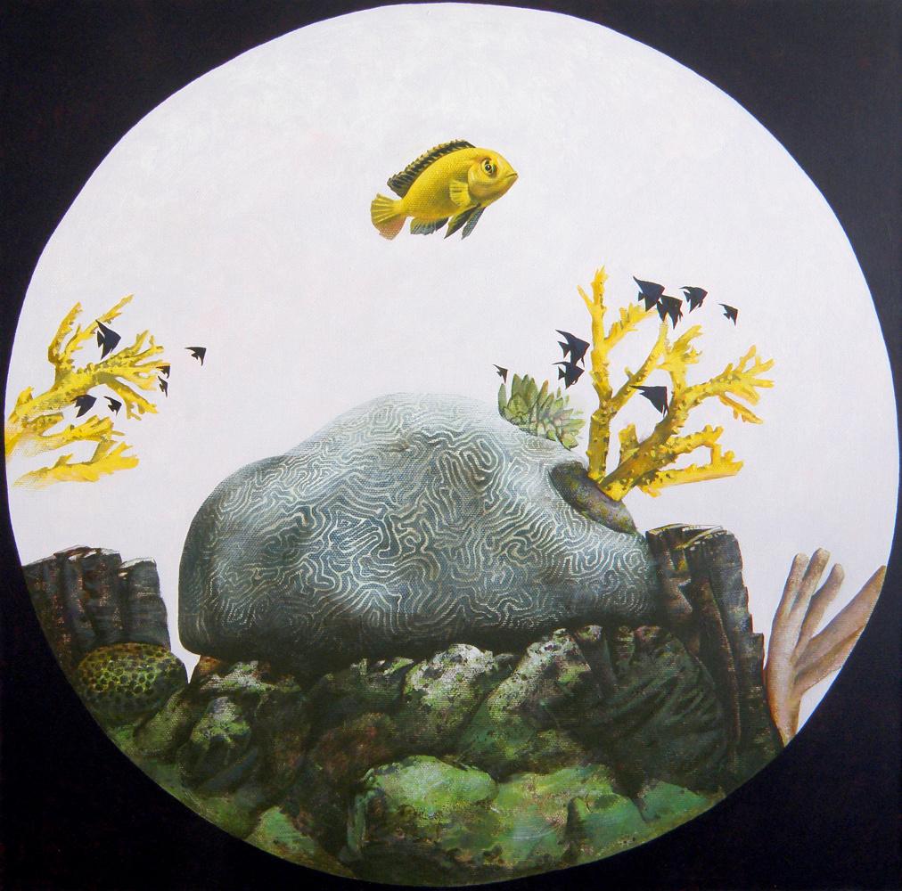 Polina Anatolyevna Kolddomasova. A fish