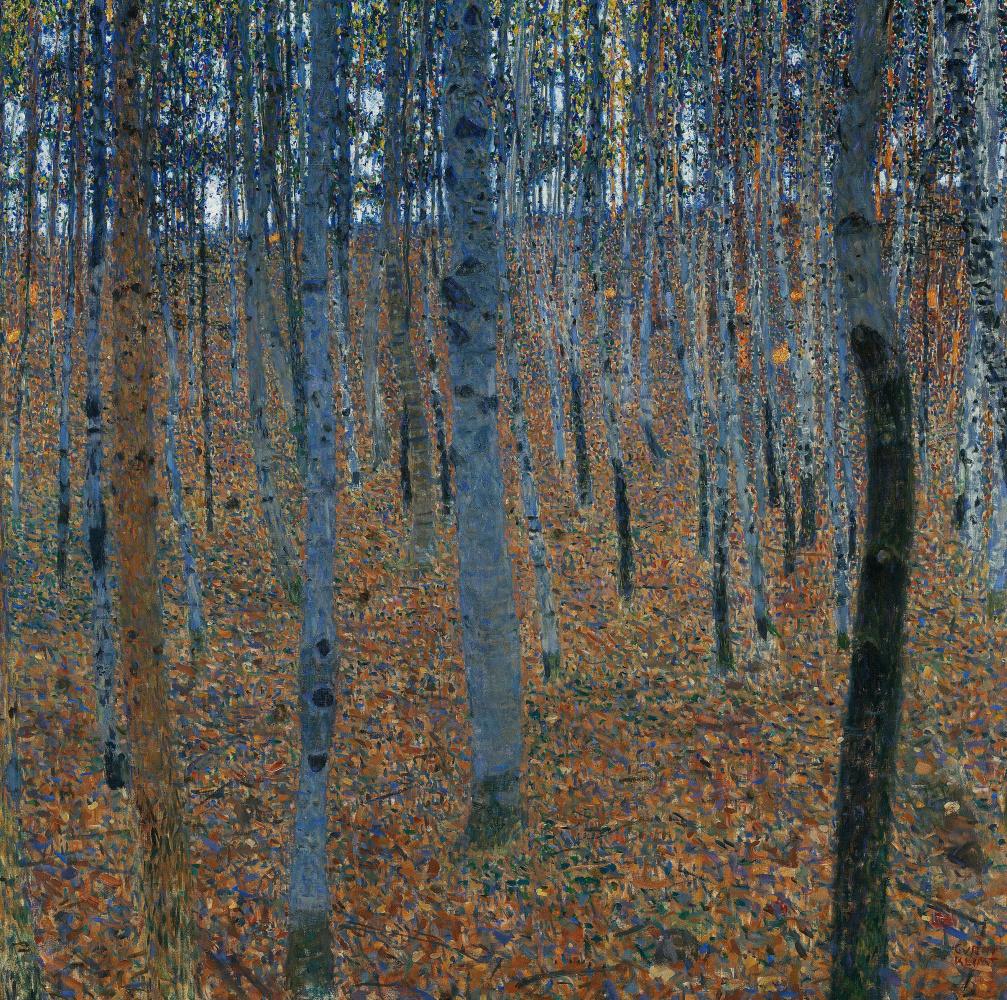 Gustav Klimt. Beech grove I