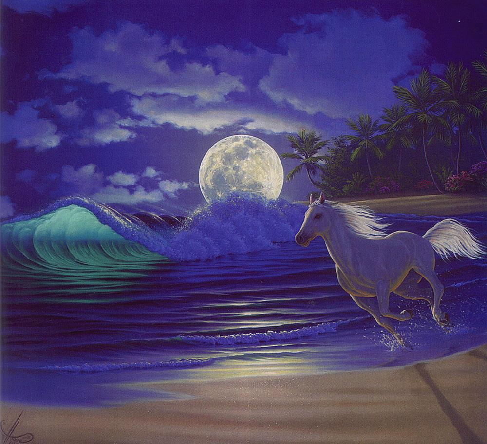 Ал Хог. Лунный свет