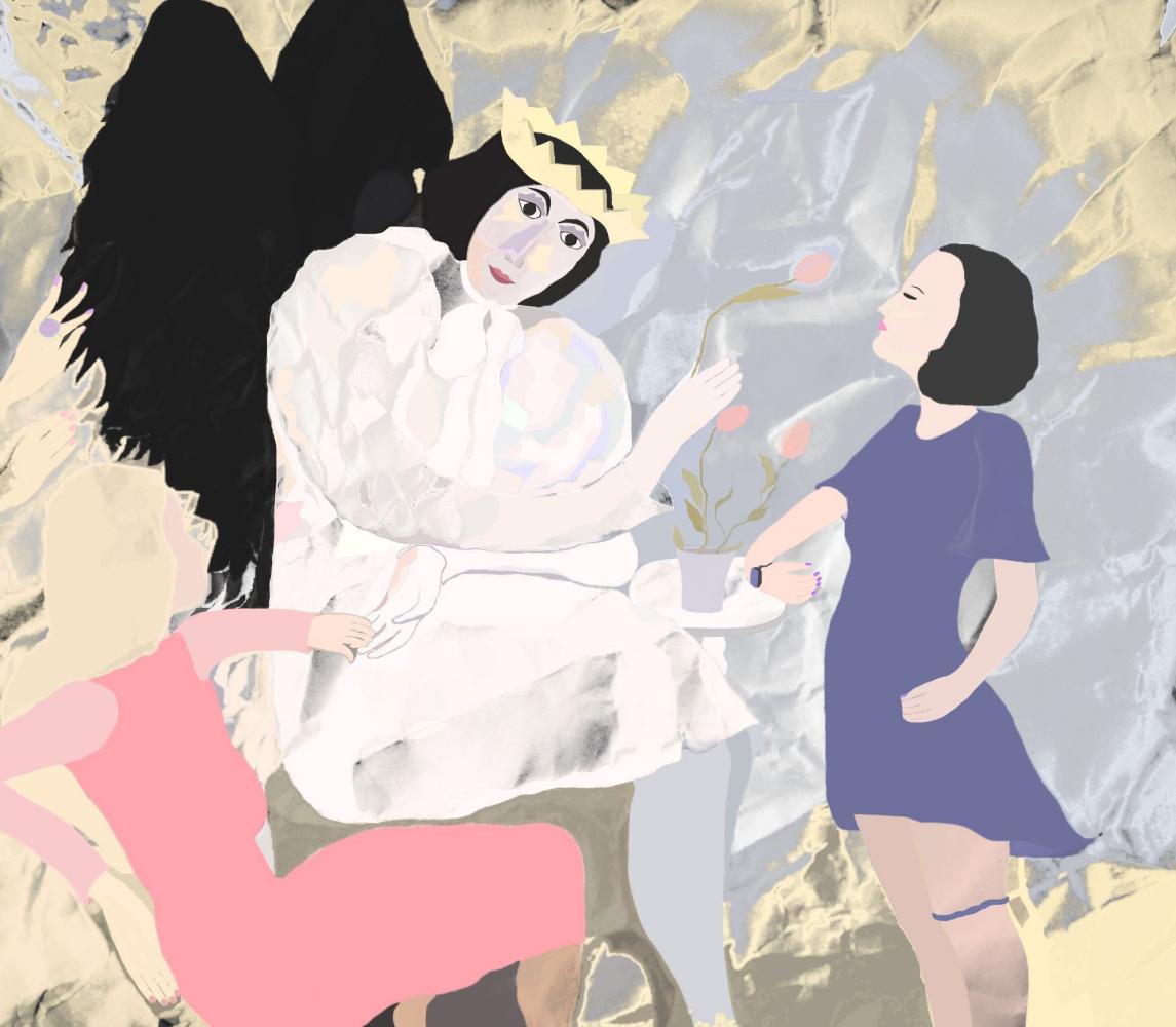 "Svetlana Sisina. ""Instructions of an Angel"""