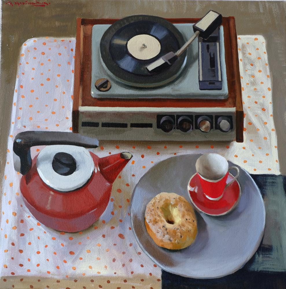 Nikita Igorevich Maksymchuk. Musical breakfast