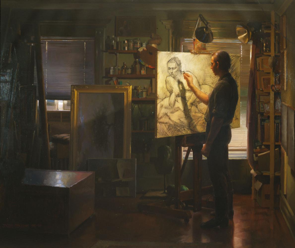 Иаков Коллинз. Гримальди в студии