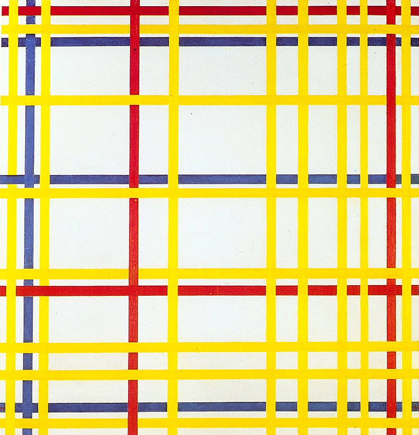 Piet Mondrian. New York 1