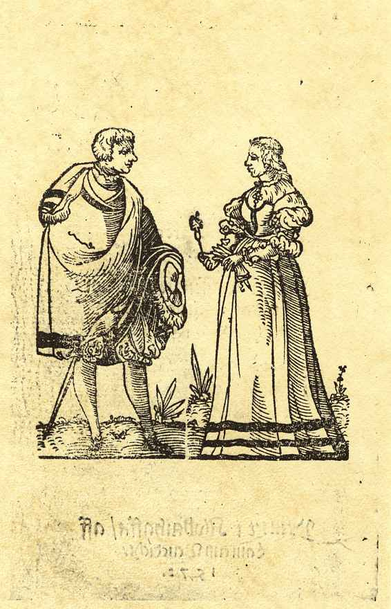 Лоренц Бенедикт. Знатная молодая пара