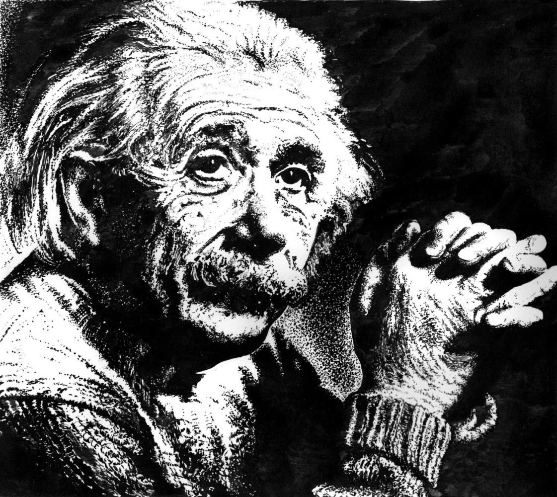 Vladimir Vasilyevich Abaimov. Albert Einstein