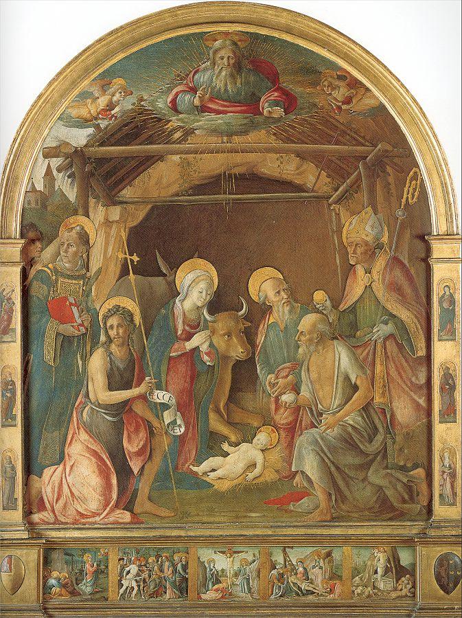 Пьетро ди Франческо дельи Опиоли. Рождество