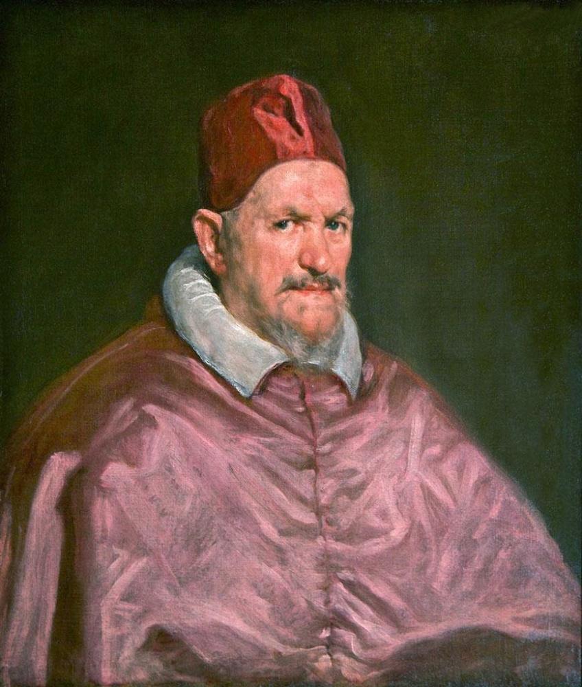 Диего Веласкес. Этюд к портрету папы Иннокентия X