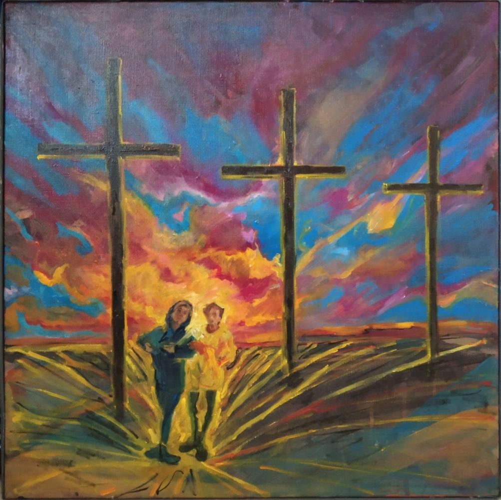 Erica Fox. Сновидение о трёх крестах.