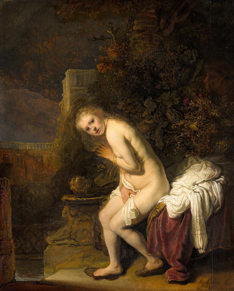 Рембрандт Харменс ван Рейн. Сусанна