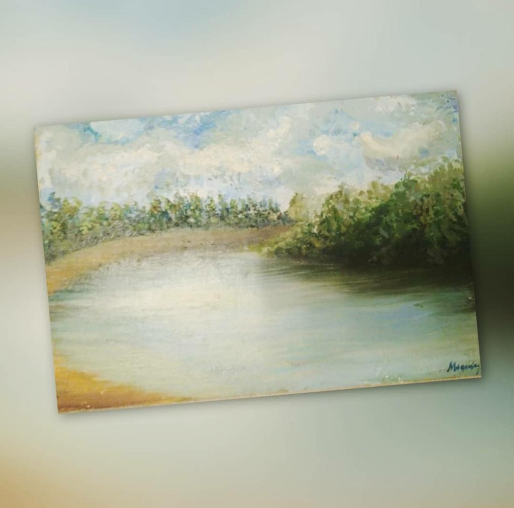 Maria Verona. Kirzhach River