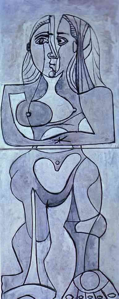Pablo Picasso. Monolithic Nude
