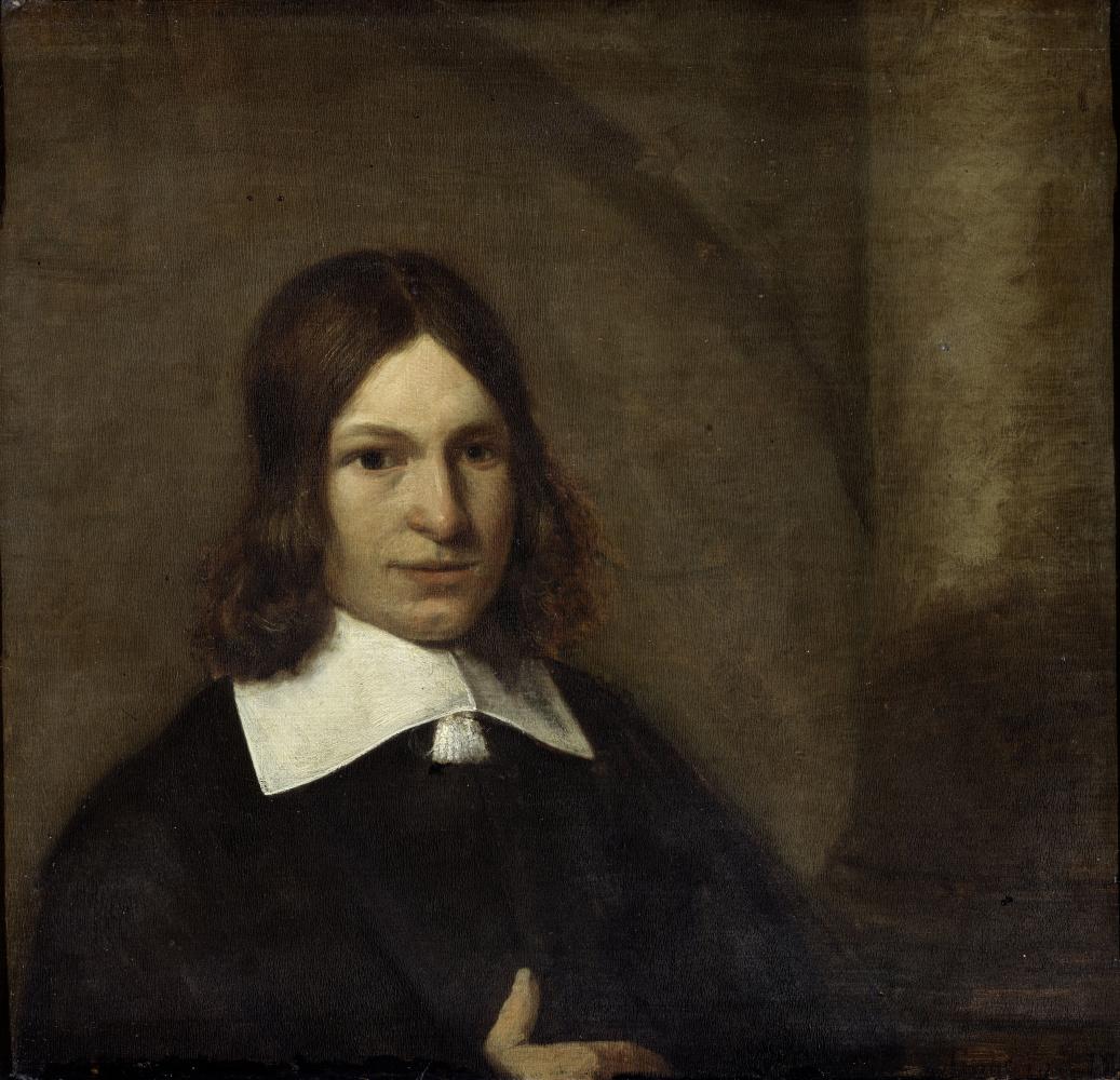 Pieter de Hooch. Self-portrait