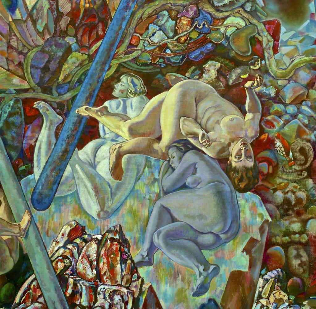 Janis Salpinkidi. Bathers-fragment