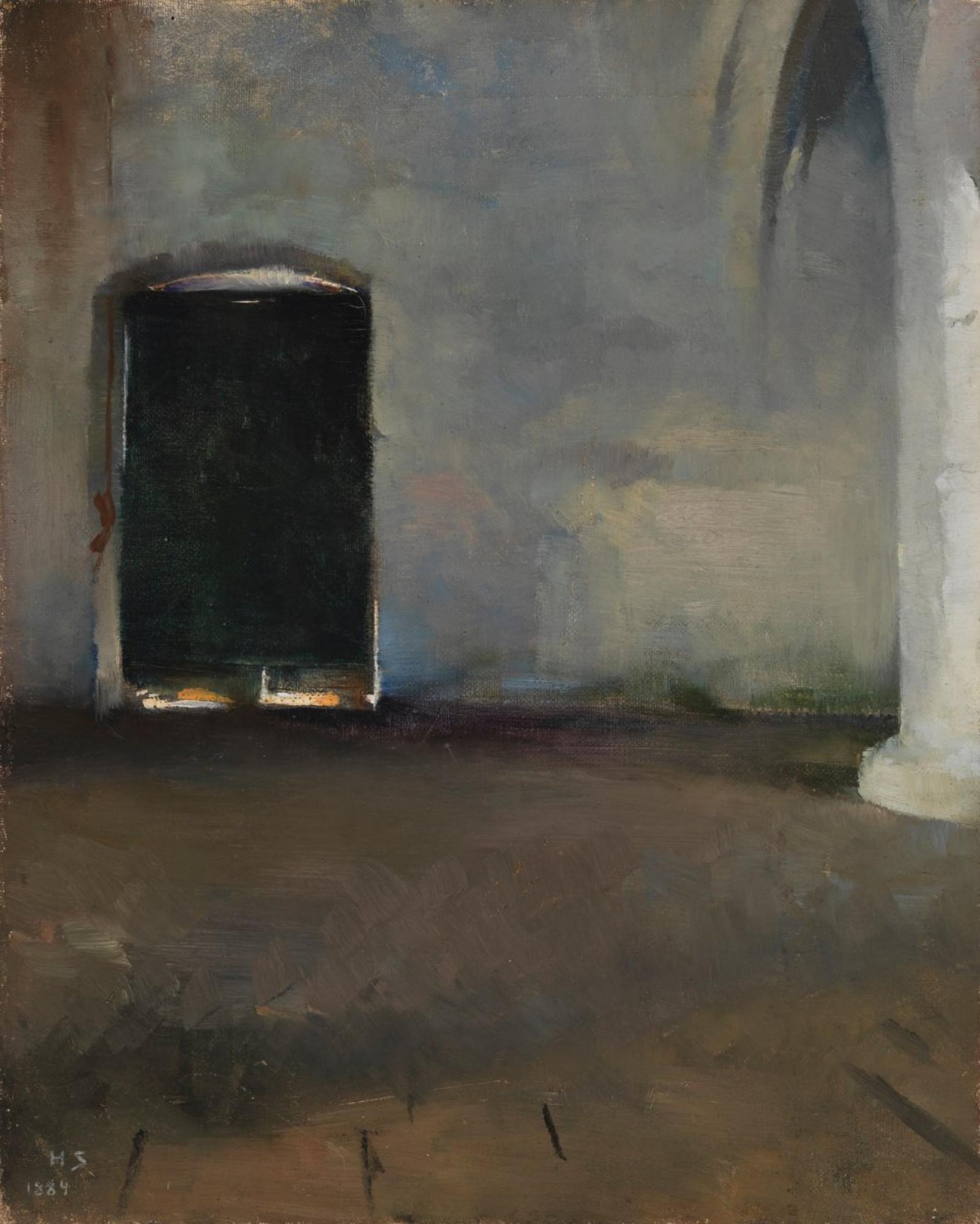 Элен Шерфбек. Дверь