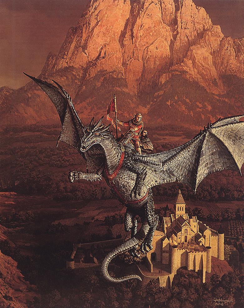 Кит Паркинсон. Полет на драконе