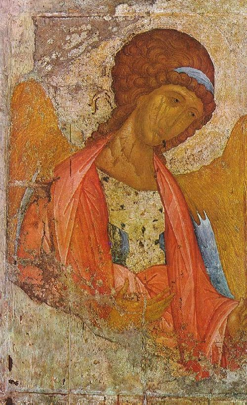 Icon Painting. The Archangel Michael