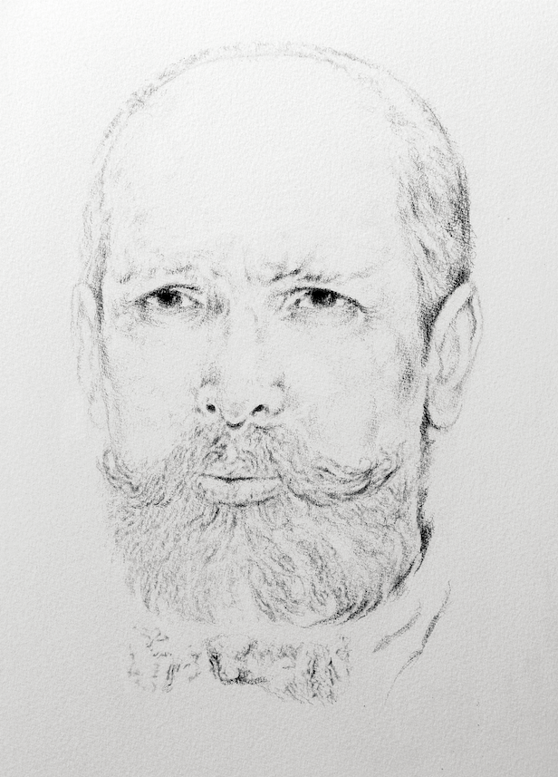 Ольга Акаси. Portrait of Pyotr Stolypin