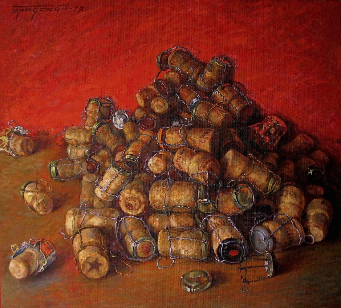 David Shikovich Brodsky. Champagne cork