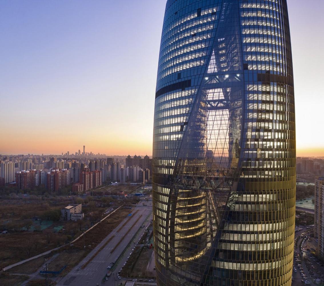 Zaha Hadid. Leeza SOHO Tower