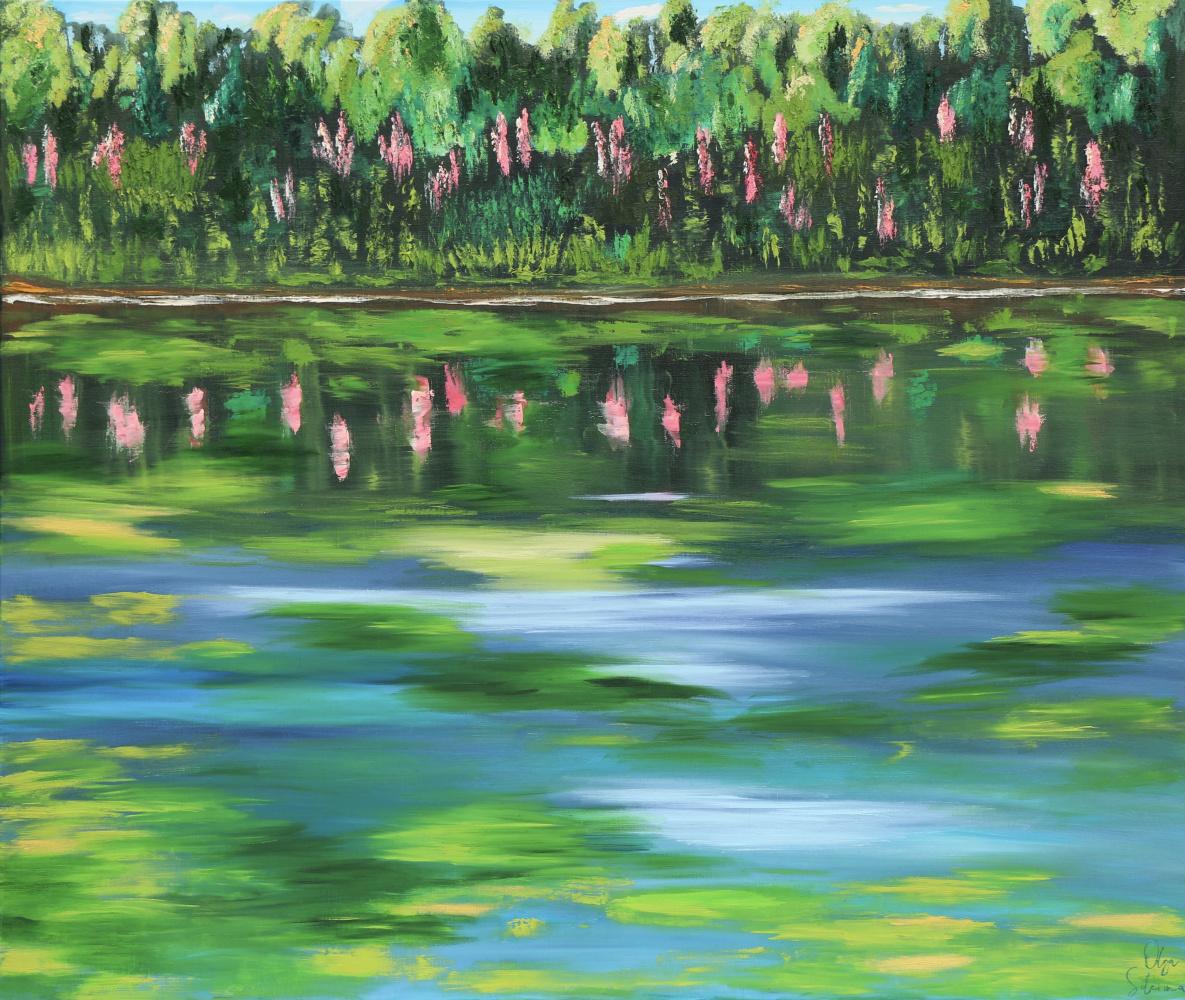 Olga Solerina. Pond