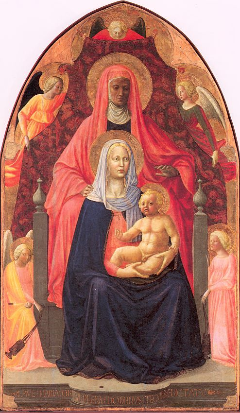 Томмазо Мазолино. Мадонна с младенцем