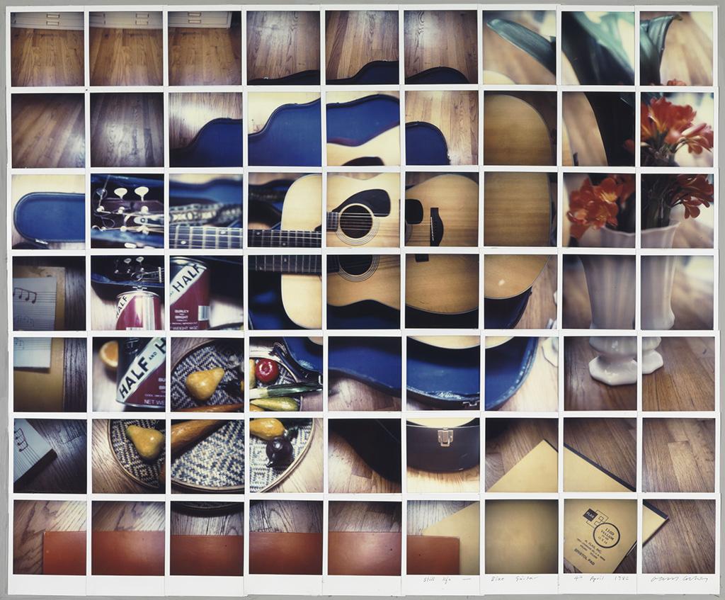 David Hockney. Still life with blue guitar