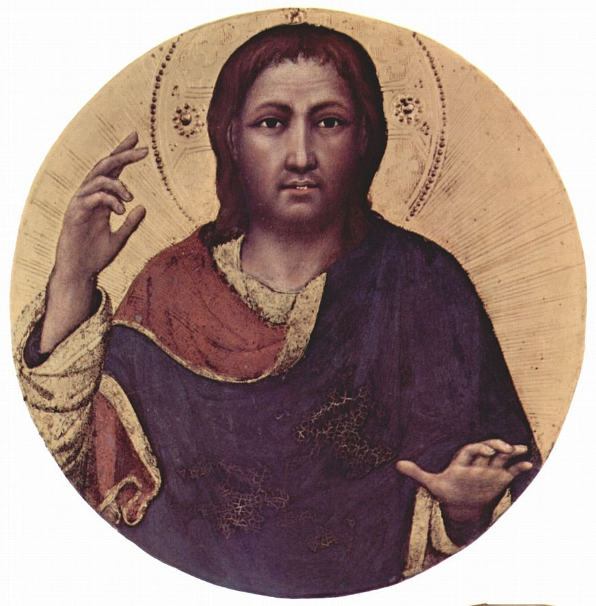 Джентиле да Фабриано. Благославляющий Христос