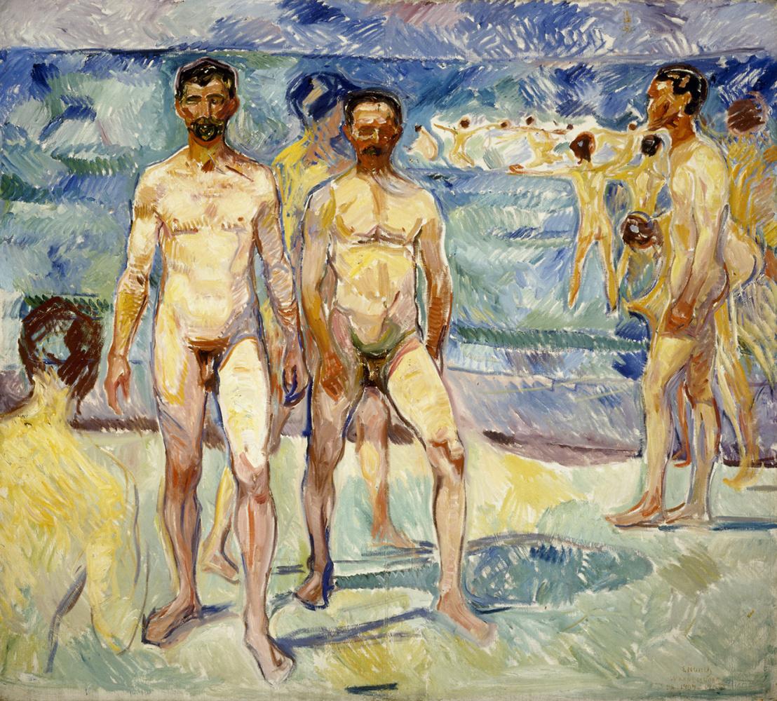 Edvard Munch. Bathers