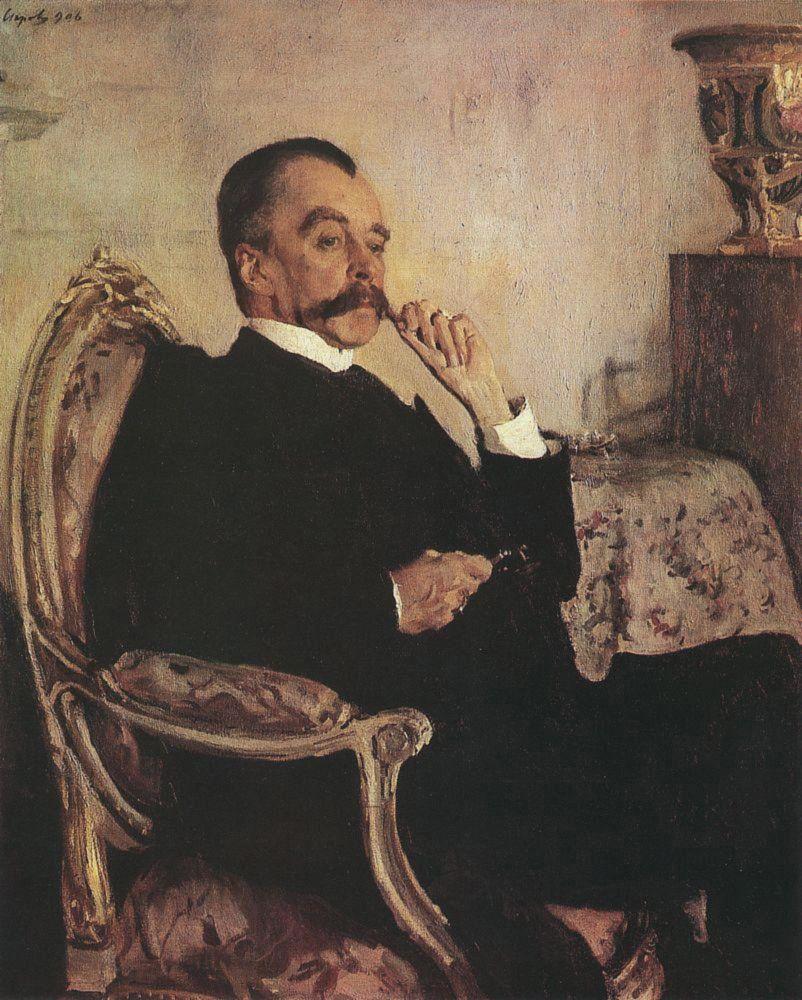 Валентин Александрович Серов. Портрет В. М. Голицына