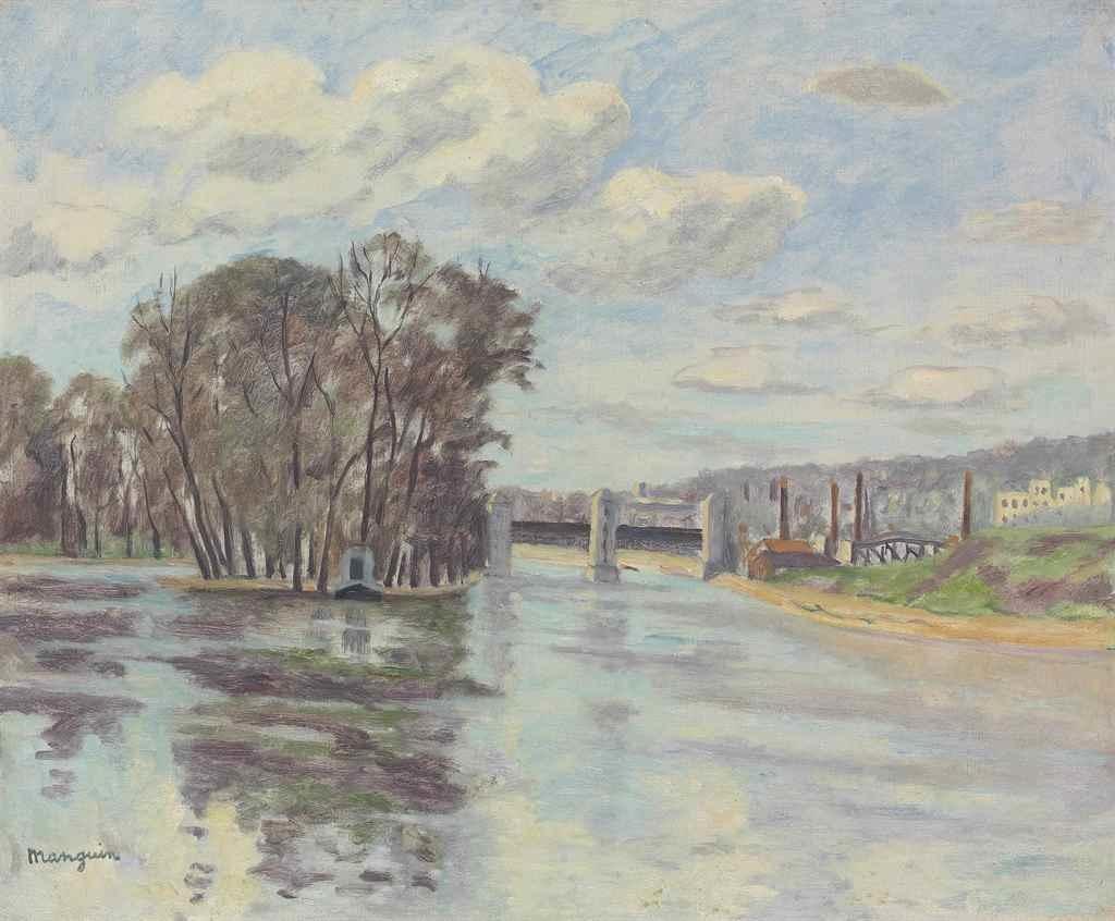 Henri Manguin. Dam Sures
