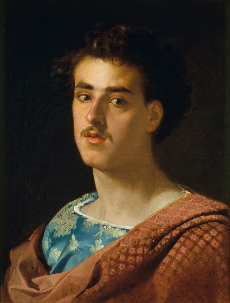 Mariano Fortuny y Marsal. Self-portrait