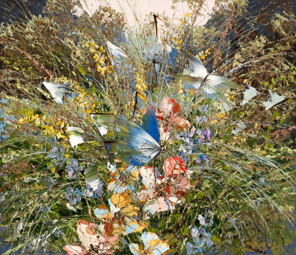 Dmitry Alexandrovich Kustanovich. Butterflies and herbs